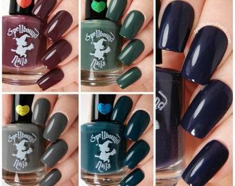 MINI The Darks - Dark Creme Nail Polish