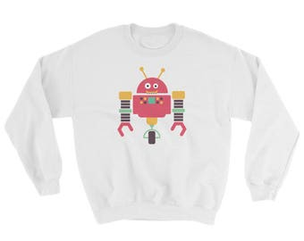 Robot Sweatshirt Multiple Colors Available DDLG, ABDL, Little, Adult Baby, Kawaii,CGL