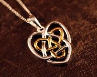 Celtic Sisters Knot Pendant
