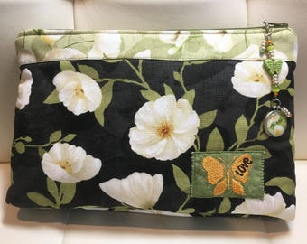 Poppy Love Bag - White
