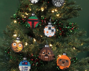 Star Wars Perler Ornament Collection Set