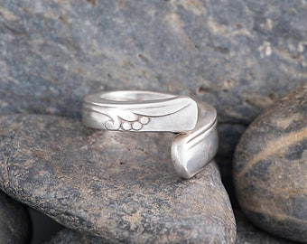 Silverware Handle Ring (Spoon Ring) Size 4 SR111