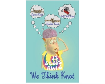 We Think Knot Funny Sobriety Card