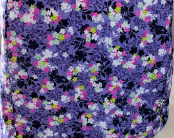 Kitchen Mixer Appliance Cover - Reversible - Lavender Purple Floral Design - Costa de Las Flores - 4, 5, 6 OR 7 Qt