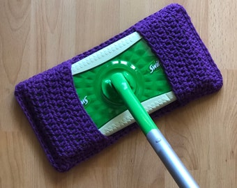 Swiffer Pad Reuseable/Eco-Friendly Washable Crochet Swiffer Pad/Swiffer Cover/Swiffer Sweeper Pad/Mop/Cotton Swiffer Cover