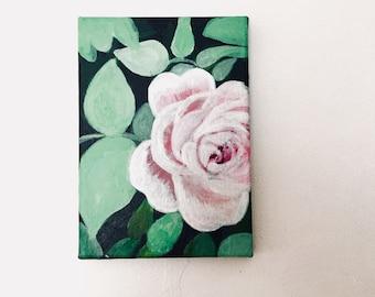 Mini Botanical Flower Canvas