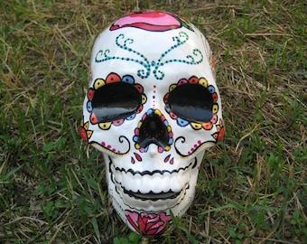 Sugar Skull - Mexican Skull - Day of the Dead - Calavera - Skull - Candy Skull - Home Decor - Handmade Sugar Skulls - MADE TO ORDER