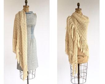 Cotton Crochet Shawl