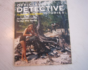 Official Detective Stories magazine - August 1963 - nice!