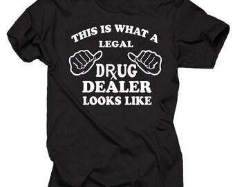 Gift For Pharmacist T-Shirt Legal Drug Dealer Tee Shirt Rx Pharmacy Shirt