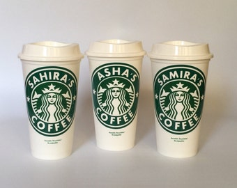 Starbucks Personalized cup - Starbuck lovers - Custom Starbuck Coffee Cup - Reusable Starbucks Cup - Gift for Her - Gift for Him