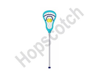 Lacrosse Stick   - Machine Embroidery Design