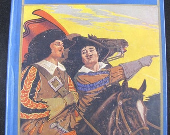 The Three Musketeers // 1923 Hardcover // Classic Literature for Young Readers // Adventure