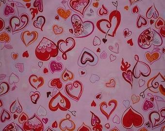 Yard of Alexander Henry Fabric Love In