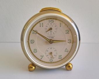 Junghans, Trivox, Mechanical Alarm Clock, West Germany, 1950s