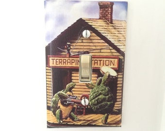 Grateful Dead Terrapin Station Light Switch Plate Cover FREE GD STICKER With Every Purchase