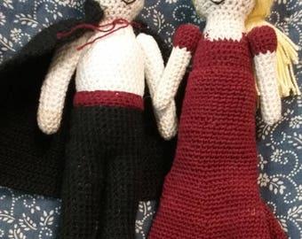 Crochet Vampire Couple