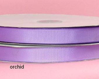 7/8 inch x 50 yds Grosgrain Ribbon -- ORCHID/LAVENDER