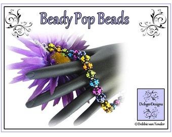Beading Pattern, Tutorial, Beaded Beads - BEADY POP