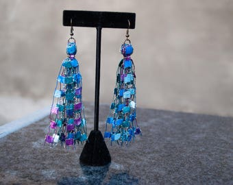 Mermaid Ribbon Earrings