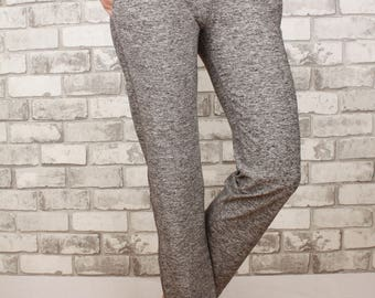 Pocket stretchy pants with drawstring and shorter length - Scarlett