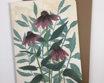 Echinacea Card