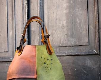 Oversized Bag ladybuq woman design bag Alicja whiskey