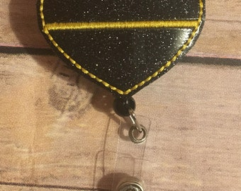 Thin Gold Line Badge Reel