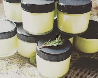 Bliss Cream~ Om Visione Skin Nourishing Deelight woodsy earthy grounding body butter forest body butter woodsy cream spruce butter