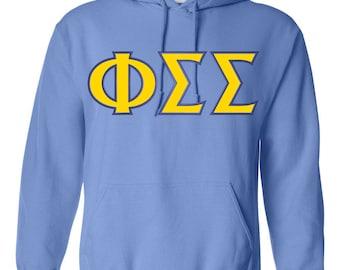 Phi Sigma Sigma, Sigma Sigma Phi chemise, lettres Sigma Sigma Phi, Phi Sig, cadeau de Sigma Sigma Phi, Phi Sigma Sigma vêtements, vêtements grecque