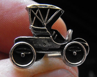 Vintage Car Cuff Links, Hickok U.S.A. - Dad's, Grad's and Stylish wear