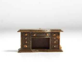 Micro Mini Fireplace, Micro Mini Mantel, Miniature Fireplace, Dollhouse Fireplace, Micro Mini Furniture, Micro Mini Dollhouse, Fireplace