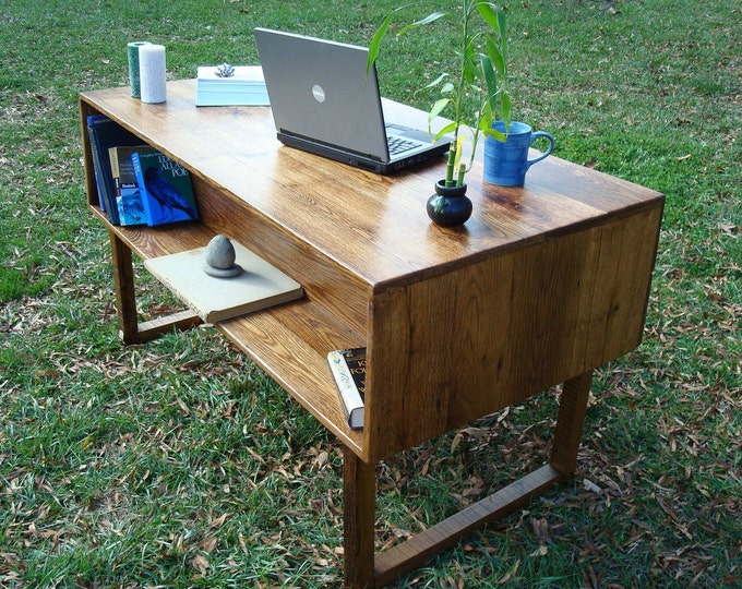 Reclaimed Wood Desk Office Furniture Executive Desk Wood Desk
