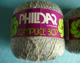 lot of 6 new coils brand PHILDAR international made in France - vintage,  as new