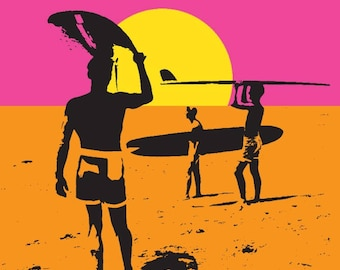 The Endless Summer - Original Movie Poster (Art Print - Multiple Sizes Available)