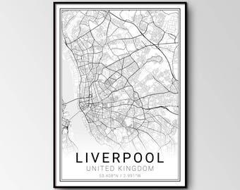 Liverpool city map