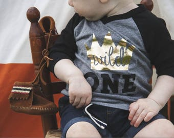 Wild One Shirt, First Birthday Shirt, Where the Wild Things Are