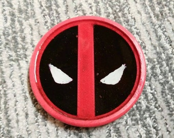 Set of 4 Deadpool 3D Printed Coasters
