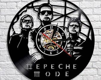 Depeche Mode Music Gift Vinyl Record Wall Clock