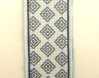 Japanese Sashiko embroidery bookmarks