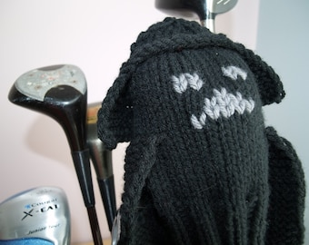Knit PATTERN Darth Vader Golf Club Cover PDF