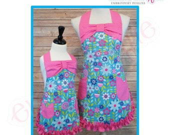Posh and Proper - Mother & Daughter Apron - PDF Sewing Pattern