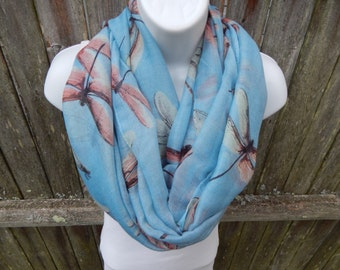 Dragonfly Infinity Scarf