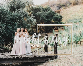 Bright & Airy | Mobile Lightroom Preset Collection