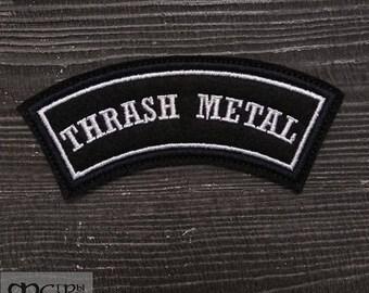 Patch Thrash Metal.