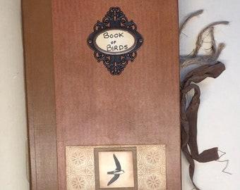 Book of Birds junk journal