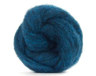 Corriedale Bulky Wool Roving - Andromeda - 4 ounces