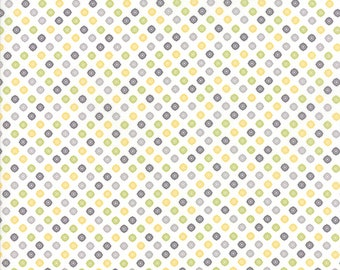 Pepper and Flax - Lacy Polka Dot in Multi: sku 29045-29 cotton quilting fabric by Corey Yoder for Moda Fabrics
