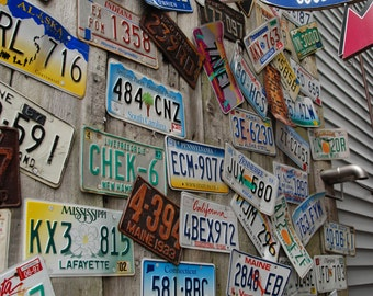 Maine seaside photo etsy license plate art street photography do it yourself wall art printable art solutioingenieria Images