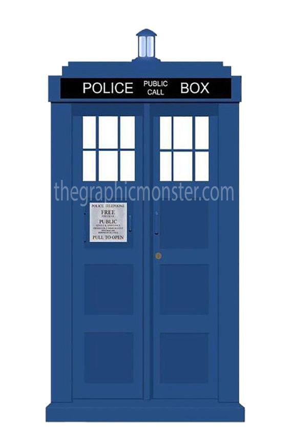 tardis clip art tardis dr who the doctor dr who clip art rh etsy com doctor who tardis clipart Star Trek Clip Art